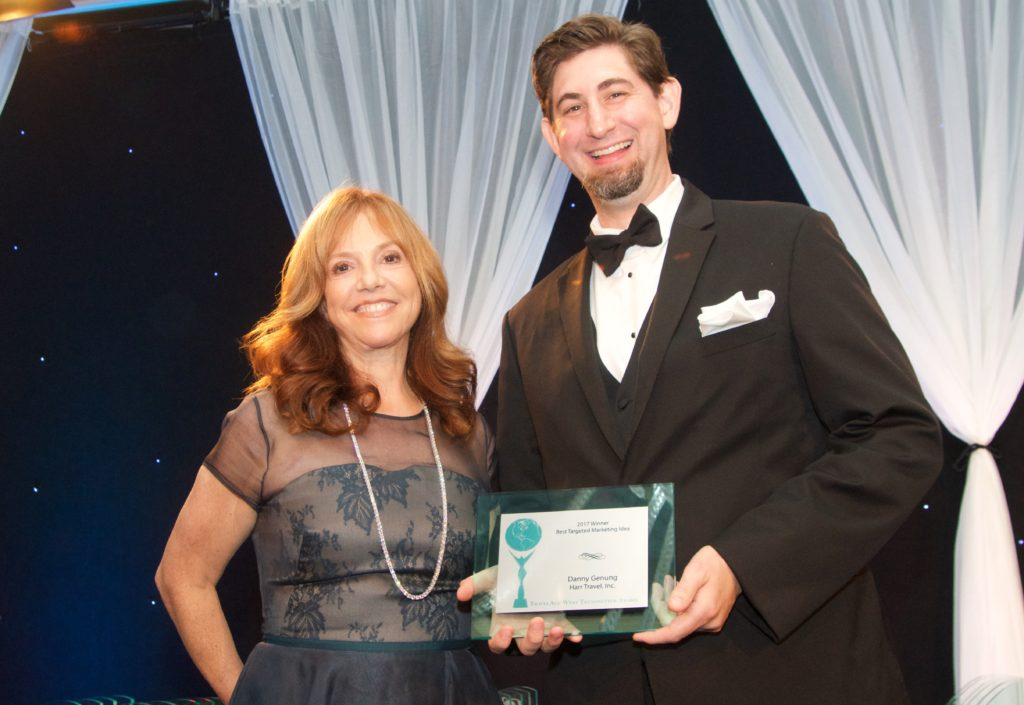 Danny Genung Honored With Travel Trendsetter Award As Top Group Agent